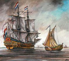 Dutch ship De Zeven Provinciën