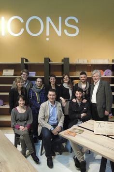 The team. #salone #internazionale del #mobile #milandesignweek #2013 #icons #furniture #italy #italia #iconsfurniture