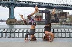 Tripod Headstand With Synchronized Legs