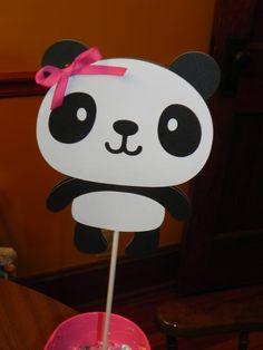 Panda Birthday Party Centerpiece by JLMpartyshop on Etsy, $4.00