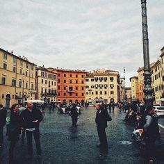 Simplicity in Rome.