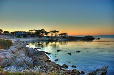 Lover's Point, Pacific Grove. My daily commute to work.  Tough, huh?