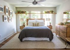 Fixer Upper Season 4 | Chip and Joanna Gaines | Episode 15 | The Giraffe House | Open Shelving Above a Bed | Unexpected Ideas