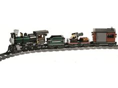 Lego Lone Ranger Constitution Train Chase revealed