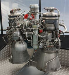 Bristol Siddeley Gamma 2 HTP/Kerosene rocket engine