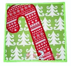 Candy Cane Box Applique - 4 Sizes! | Christmas | Machine Embroidery Designs | SWAKembroidery.com The Itch 2 Stitch