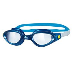 Zoggs Phantom Elite Adult Swim Swimming Goggle Eye Protection BlueClear ** Read more  at the image link.Note:It is affiliate link to Amazon.