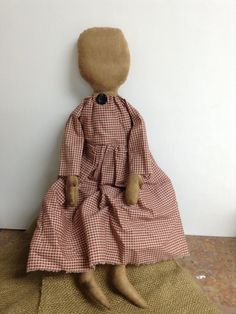 Prarie Doll by PinkHenStudio on Etsy