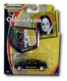 Ozzy Osbourne Car The Osbournes diecast by Matchbox. $3.95. Matchbox. Collectible. Ozzy Osbourne The Osbournes diecast