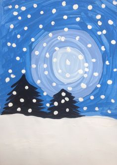 Tanne / Schnee / Winter – Manualidades Ranitas – Source by Winter Art Projects, Winter Crafts For Kids, Winter Kids, Winter Snow, Winter Painting, Painting For Kids, Art For Kids, Theme Noel, Winter Activities