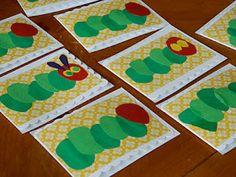 "Very Hungry Caterpillar Cards ("",)"