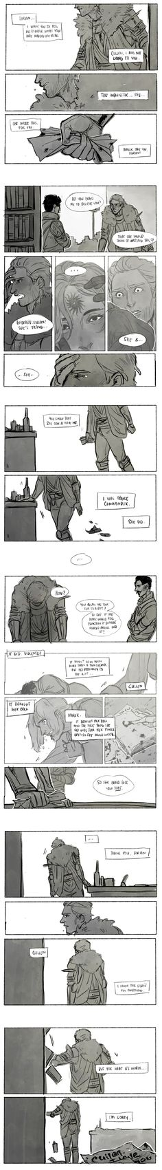 Cullen x Inquisitor - I can't take these feels. D:
