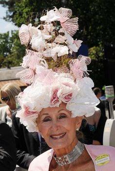 Another fancy bonnet for Mrs. Edward Claridge, Royal Ascot