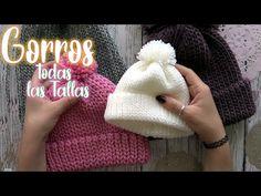 GORROS para TODA la FAMILIA/gorritos para hombre mujer nin@ y bebe - YouTube Crochet Beanie, Crochet Baby, Knit Crochet, Mad Hatter Hats, Crochet Winter, Kentucky Derby Hats, Slouchy Beanie, Crochet Videos, Snapback Hats