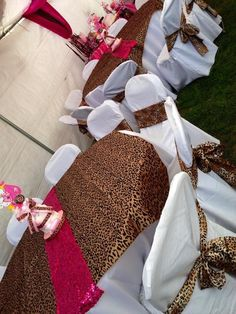 Pink/Cheetah Baby Shower Party Ideas