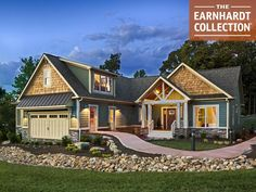 LOVE IT...  Blue Ridge Home Plan - Earnhardt Collection™ by Schumacher Homes