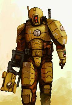 Empire Tau, Zoids, Tau Army, Fire Warrior, Arte Ninja, Warhammer 40k Art, Sci Fi Characters, Metroid, The Grim