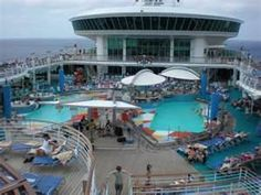 Royal Caribbean Cruise- Who wouldn't like this view?!? Sit back, relax, and let C2C Travels book you a dream vacation cruise! 2744.mtravel.com - mailto:info@c2ctravels.com