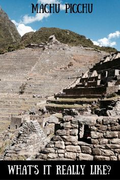 Want to know what to expect at Machu Picchu? This is a 'warts and all' account of a trip taken from Cusco. Also, there are tips to help you make the most of a magical place #machupicchu #perutravel #southamerica #cuscotours #photography #Unlatinoverde: