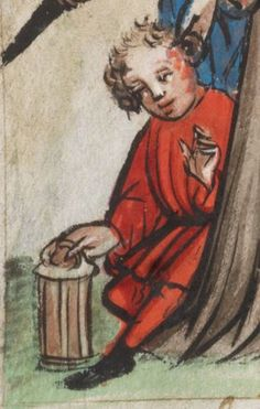 Speculum Humanae Salvationis 1427 Cod. membr. 8  Folio 18v