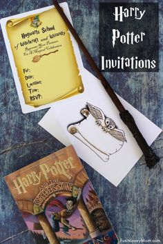 Easy Harry Potter Invitations You Can Print From Home