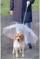Wholesale 2013 Fashion hot Petumbrella pet dog umbrella umbrella pet raincoat dog raincoat teddy is small dogs