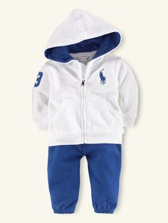 2-Piece Big Pony Fleece Set - Outfits & Gift Sets   Layette Boy (Newborn-9M) - RalphLauren.com