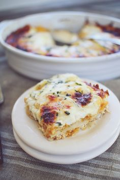 Low Carb Butternut Squash Lasagna (made w/ wonton wrappers instead of noodles)