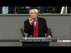 """Die undankbare Kanzlerin? Ströbele: """"Ich hab' mal 'ne Frage"""" Bundestag 1..."""