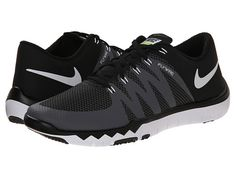 Nike Free Trainer 5.0 V6 Black/Dark Grey/Volt/White - Zappos.