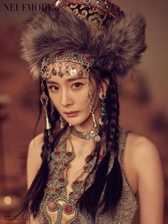 So beautiful 😍 Hippie Accessories, Chinese Actress, Asian Beauty, Actors & Actresses, Captain Hat, Idol, Poses, Boho, Hats