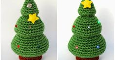 Amigurumi made with love in Barcelona. Crochet patterns and other crafts/ Amigurumi hechos con amor en Barcelona. Talleres y patrones de ganchillo Christmas Tree Pattern, Crochet Christmas Ornaments, Holiday Crochet, Noel Christmas, Christmas Knitting, Christmas Crafts, Xmas Tree, Christmas Ideas, Crochet Diy