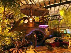 steampunk submarine | Jules Verne-inspired steampunk submarine star of garden show (photos)