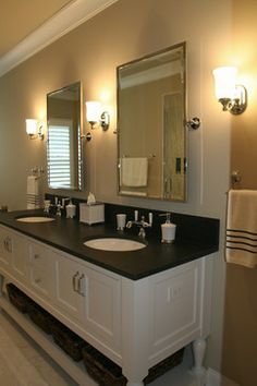 MBA Mirrors  712 W. Bauer - traditional - bathroom - chicago - Cory Smith Architecture