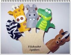Filc ujjbáb csomag - Szafari