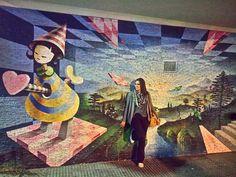 Palermo Hollywood - Buenos Aires  . Nunca deixe de observar a arte de rua. Nunca saia sem se deixar tocar. Boa noite! Bom sábado! #BuenosBlogs #DescubraBuenosAires . .  Tem mais Buenos Aires na galeria. .  Conheça o ig @viagemnapontadolapis  . Acesse http://ift.tt/1Mv9A8t . . . #grafitti #artederua #aosviajantes #Argentina #BuenosAires #palermohollywood #BlogDeViagem #wanderlust #braziloverss #rbbviagem #bsas #dicasdeviagem #dicasdebuenosaires #amoviajar #queroviajar #queroferias #loveiit…