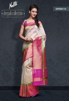 Catalog All Collections Indian Attire, Indian Wear, Indian Outfits, Nalli Silk Sarees, Kanchipuram Saree, Indian Bridal Hairstyles, Designer Sarees Online, Saree Dress, Asian Fashion