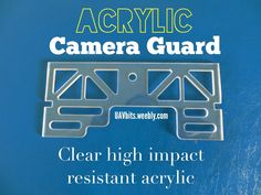 Check out the #acrylic #camera guard for the #DJI #phantom