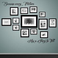 Feature wall Frames - Photo frames on wall Vector vintage picture frames. Molduras Vintage, Photowall Ideas, Vintage Picture Frames, Black Photo Frames, Wall Photos, Picture Placement On Wall, Black Frames On Wall, Diy Picture Frames On The Wall, Hanging Pictures On The Wall