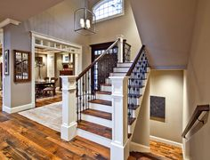 beaver lake retreat by design guild homes traditional staircase seattle design guild. Interior Design Ideas. Home Design Ideas