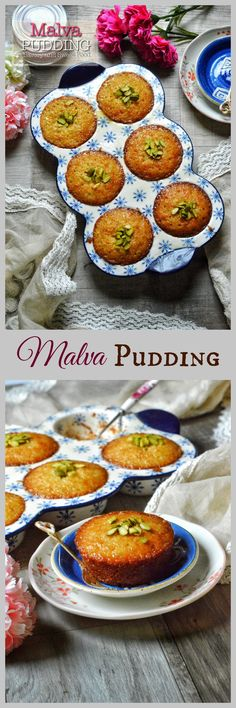 Malva Pudding is a classic South African dessert which has a spongy caramelized texture which is doused in a buttery cream sauce. This pudding is traditionally served with custard or ice cream. South African Desserts, South African Dishes, South African Recipes, Kos, Just Desserts, Dessert Recipes, Mini Desserts, Cupcake Recipes, Malva Pudding