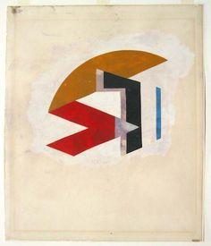 Laszlo Peter Peri, Expanded Space Construction, tempera on acetate, MoMA, Bauhaus, Constructivism, Harlem Renaissance, Tempera, Moma, Art Deco, Symbols, Construction, News
