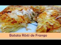 Sabor no Prato: Batata Rösti de Frango