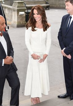 Kate has been on the receiving end of criticism from fashionistas for her rather safe choice of outfits and was clearly determined to prove them wrong with her vampish new look