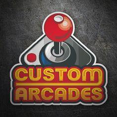 Pegatinas: Custom Arcades #friki #TeleAdhesivo