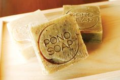 Pono Soap, a for-profit subsidiary of PASS, launched in December PONO SOAP PHOTO