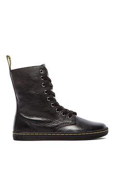 cdb0fffae9a3 Dr. Martens Stratford 9-Eye Fold Down Boot in Black