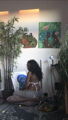 Art Hoe Aesthetic, Black Girl Aesthetic, Black Girl Art, Black Girl Magic, Black Girls, Black Women, Earthy Outfits, Afro, Black Hippy