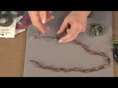 Beads, Baubles and Jewels Knotted Leather Necklace Video
