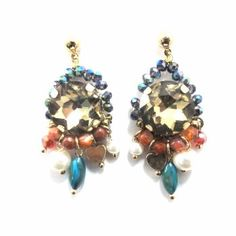 Bohemian Bead Earrings | HotOnTrend.com